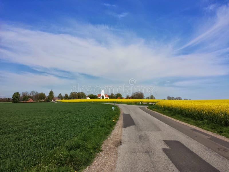Verano en Dinamarca imagen de archivo