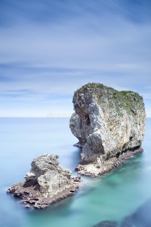 Verano en la costa foto de archivo libre de regalías