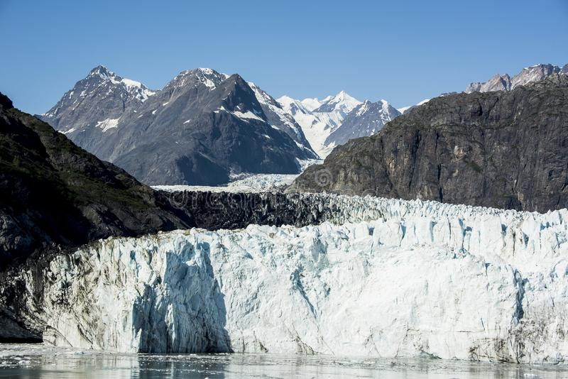 Verano en parque nacional del Glacier Bay imagenes de archivo