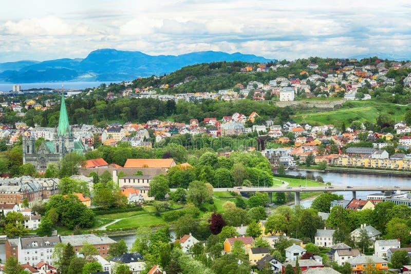 Verano en Strondheim fotografía de archivo libre de regalías