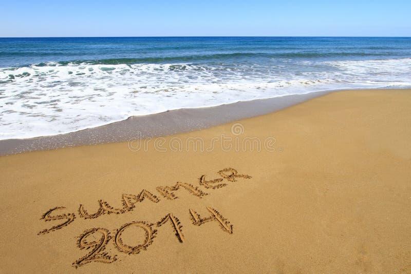 Verano 2014 imágenes de archivo libres de regalías