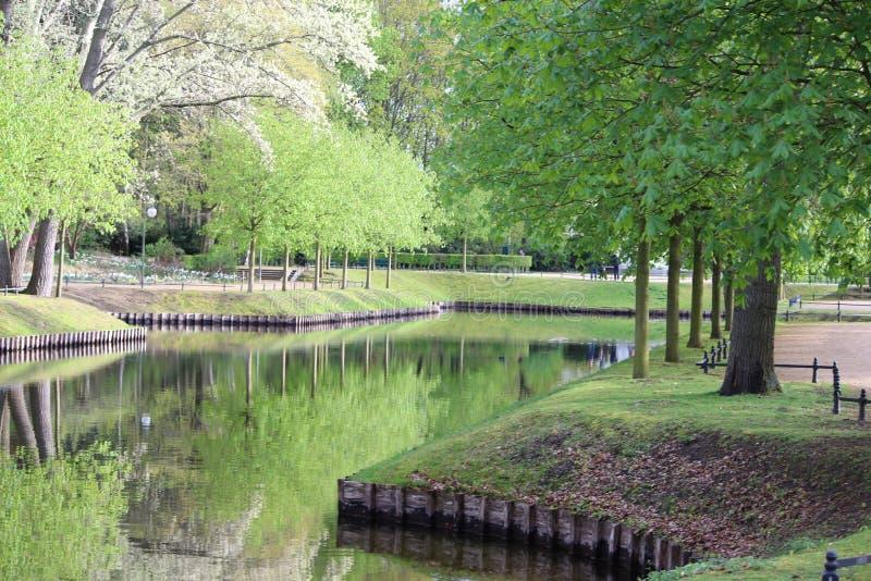 Verano hermoso en Berlín fotografía de archivo libre de regalías