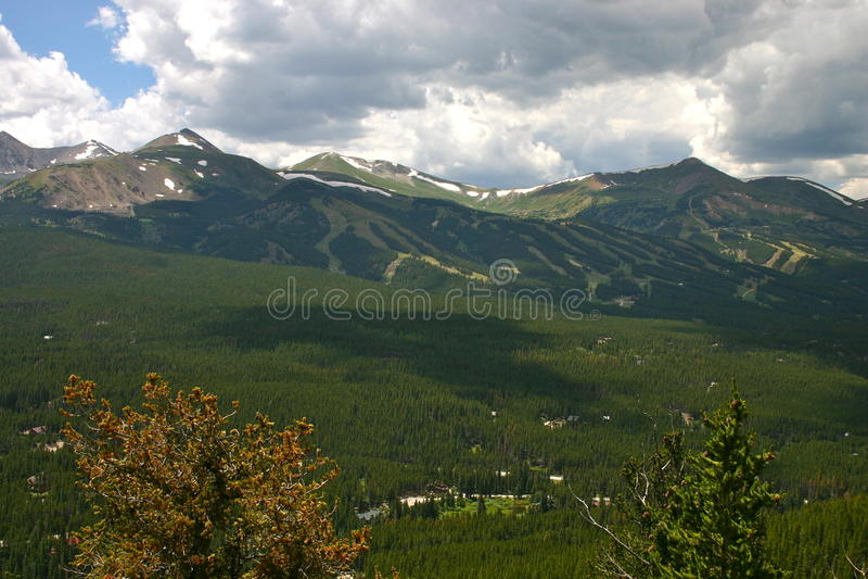 Verano Ski Area imágenes de archivo libres de regalías