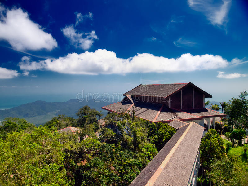 Veranschaulichung in der Langkawi-Insel. Malaysia stockfoto