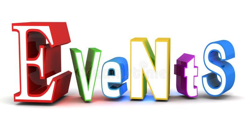 Veranstaltungsmanagement vektor abbildung