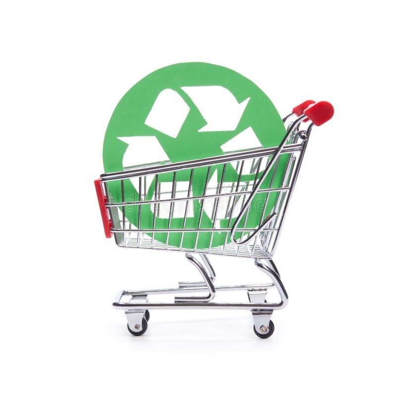 Verantwortliche Verbraucherschutzbewegung (aufbereitet) stockfotos