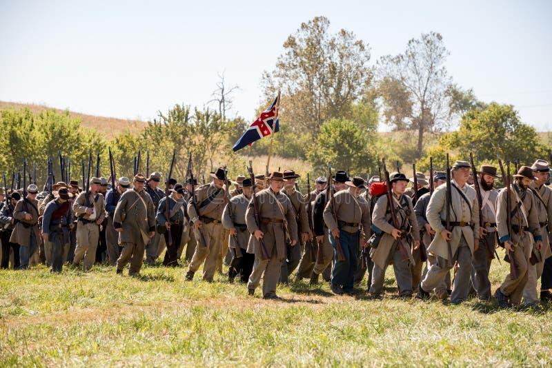 Verbündete Armee Perryville lizenzfreies stockfoto
