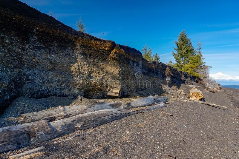 Verbands-Bucht-Kohlen-Hügel Vancouver Island, Britisch-Columbia, Canad stockfoto