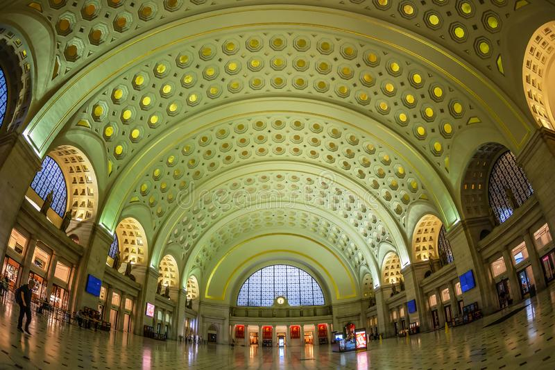 Verbands-Station im Washington DC lizenzfreies stockbild