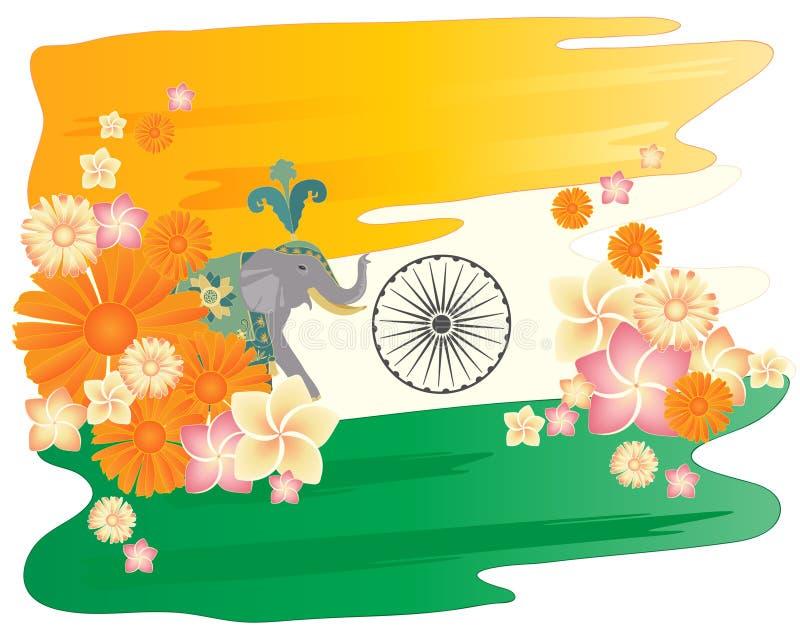 Verbazend India stock illustratie