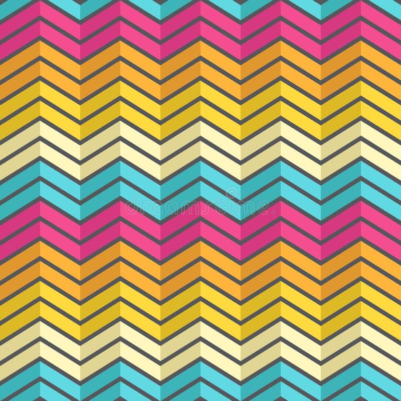 Verbazend kleurrijk regenboog uitstekend geometrisch patroon royalty-vrije stock foto