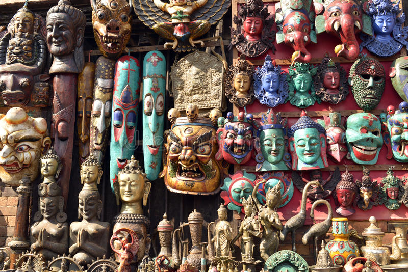 Verbazende artefacten stock fotografie