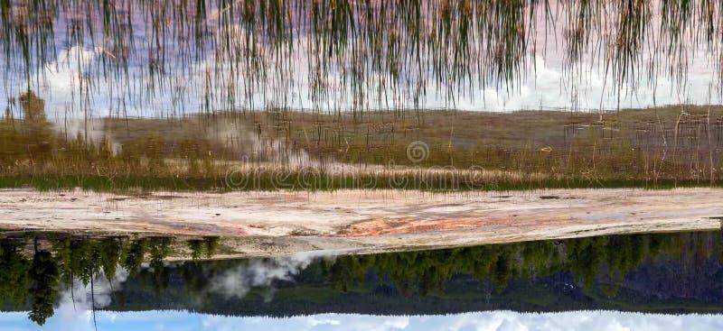 Verbazende bergen in het Nationale Park van Grand Teton stock afbeelding