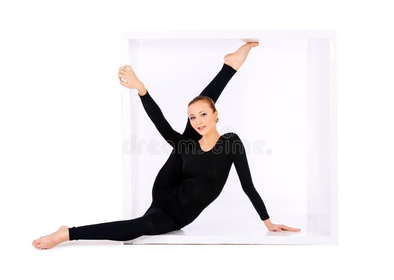 Verbazende flexibiliteit stock fotografie