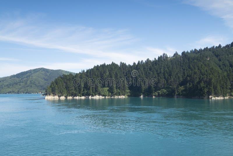 Verbazende meren in Nieuw Zeeland D Y stock fotografie