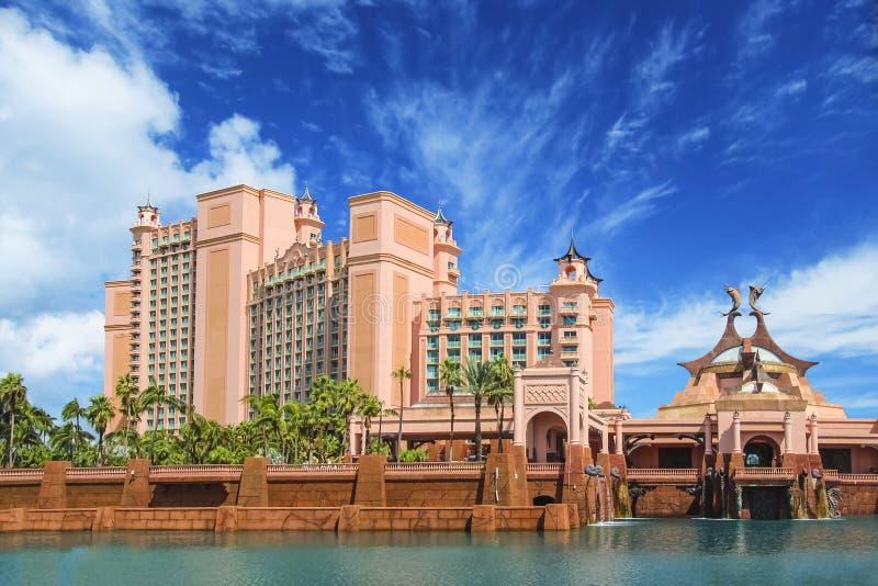 Verbazende vesting als het inbouwen van Nassau, de Bahamas stock afbeeldingen
