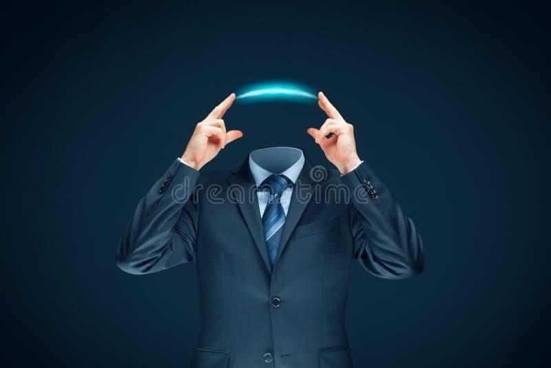 Verbeelding, innovatie en creativiteitconcept stock afbeelding