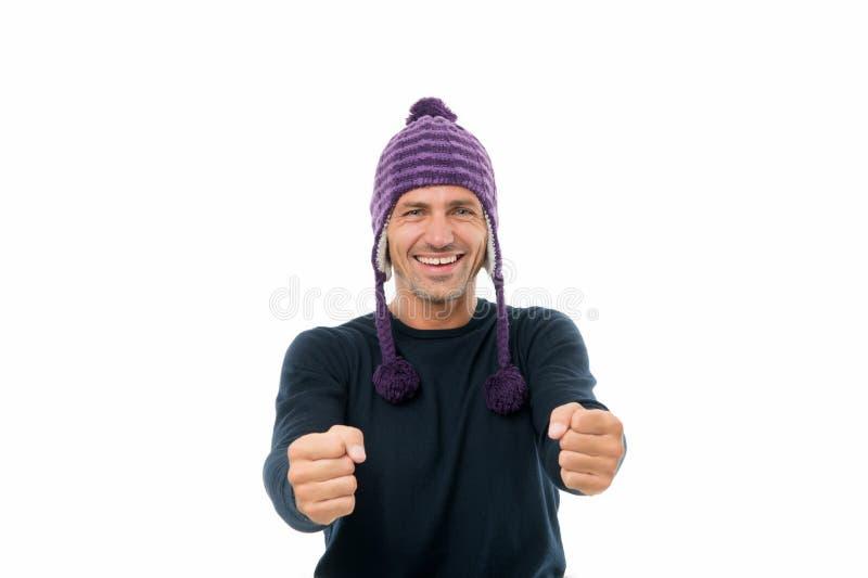 Verbeelding zal je overal brengen Happy man stelt je voor om geïsoleerd te rijden op wit Imagisch autoverkeer Verbeelding en verb royalty-vrije stock foto