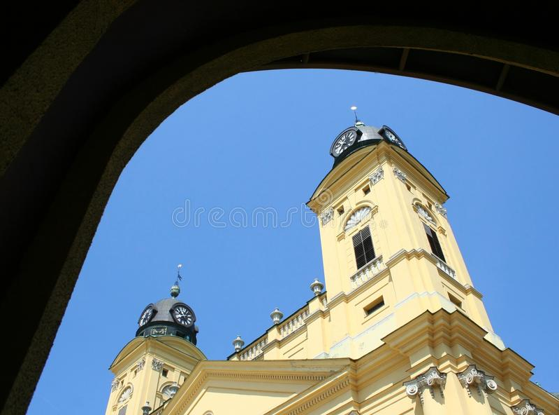 Verbesserte Kirche lizenzfreies stockfoto