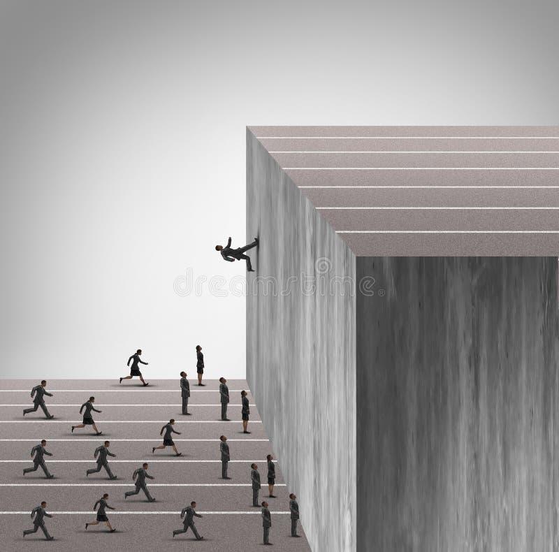 Verbesserungs-Geschäfts-Fähigkeiten stock abbildung