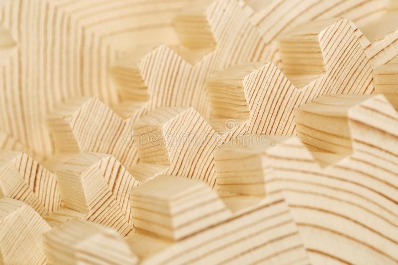 Verbind houten gelamineerd vernisjetimmerhout royalty-vrije stock fotografie