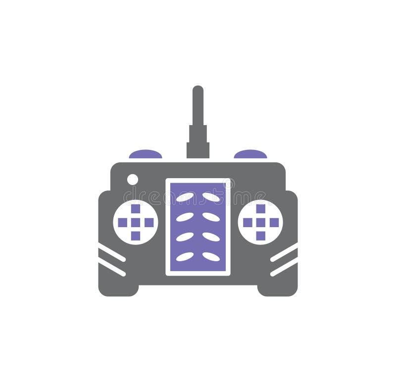 In Verbindung stehende Ikone des Brummens auf Hintergrund für Grafik und Webdesign Einfache Abbildung Internet-Konzeptsymbol f?r  vektor abbildung