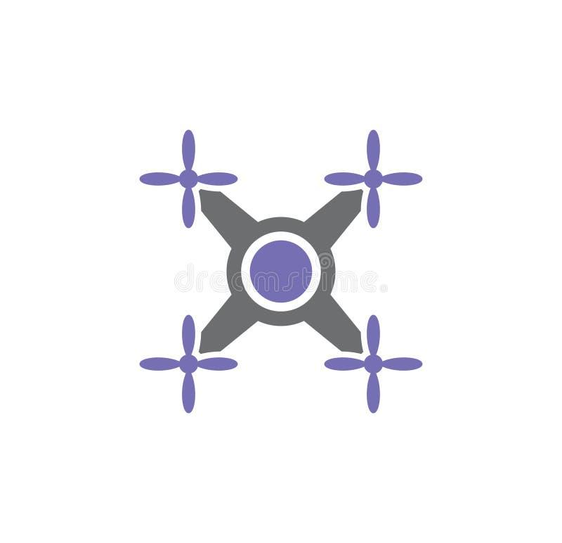 In Verbindung stehende Ikone des Brummens auf Hintergrund für Grafik und Webdesign Einfache Abbildung Internet-Konzeptsymbol f?r  lizenzfreie abbildung