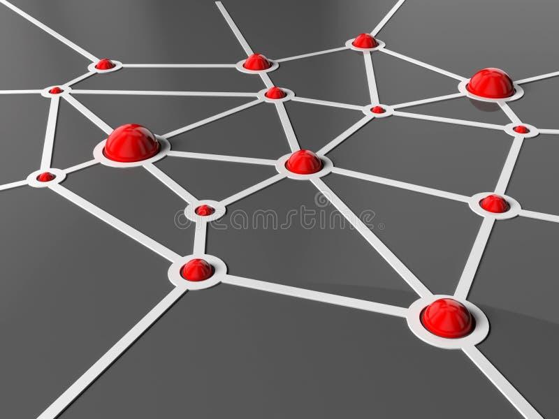 Verbindungen vektor abbildung