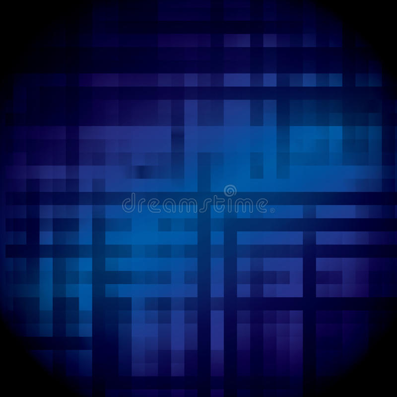Verbindungslinien der abstrakten Technologie vektor abbildung