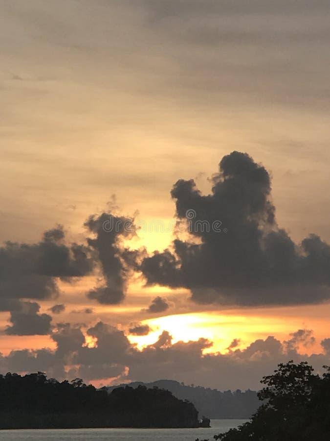 Verblassender Sun stockfotos