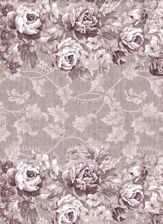 Verblassene florals lizenzfreie abbildung