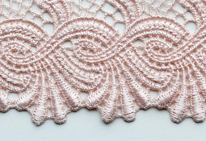 Verbleek - roze materieel de textuur macroschot van het bloemkant royalty-vrije stock afbeeldingen