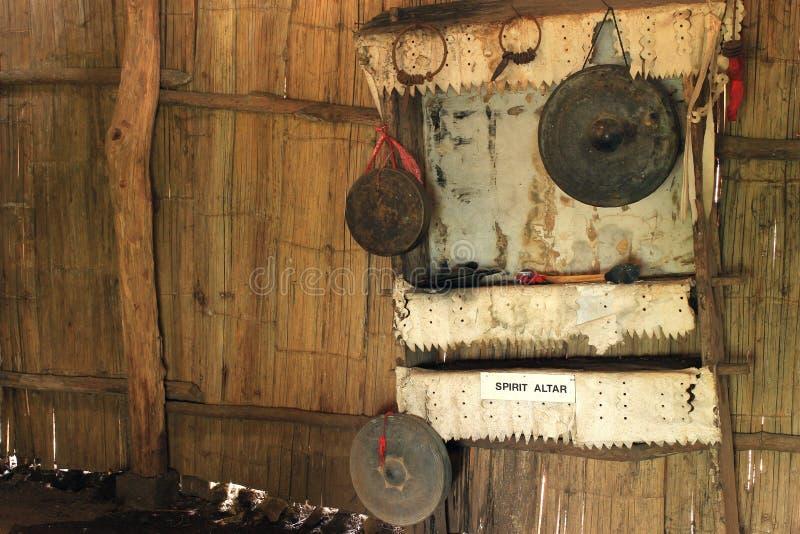 Verbod Doi Pui Tribal Museum. stock fotografie