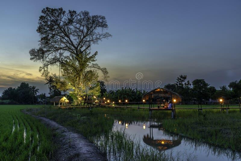 Verbod Nong Khlong Aantrekkelijkheden in Singburi Thailand stock fotografie