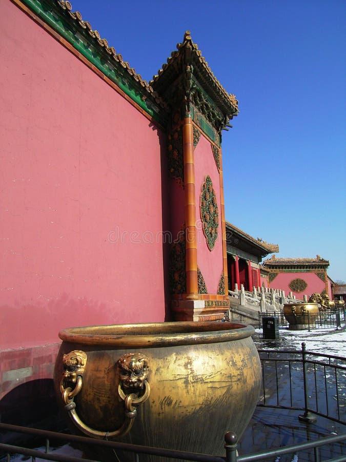 Verboden Stad in Peking stock foto