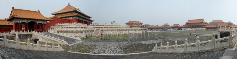 Verboden stad Peking royalty-vrije stock afbeeldingen