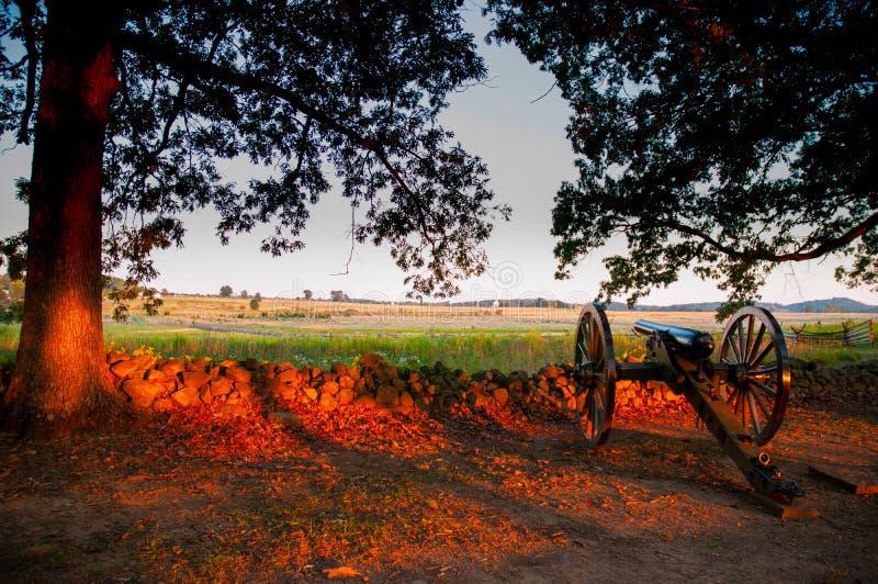 Verbonden Kanonseminarie Ridge Sunset royalty-vrije stock afbeeldingen