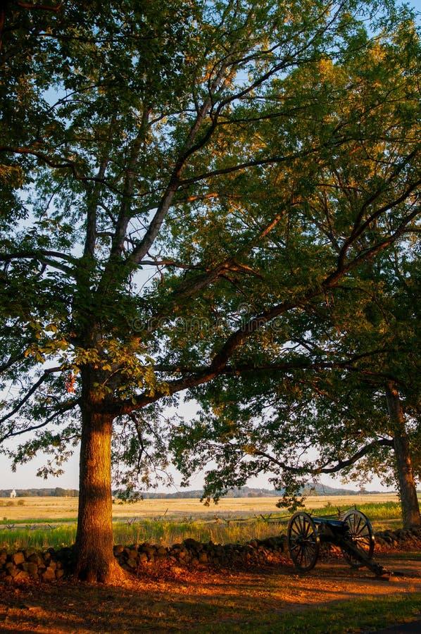 Verbonden Kanonseminarie Ridge Sunset royalty-vrije stock afbeelding
