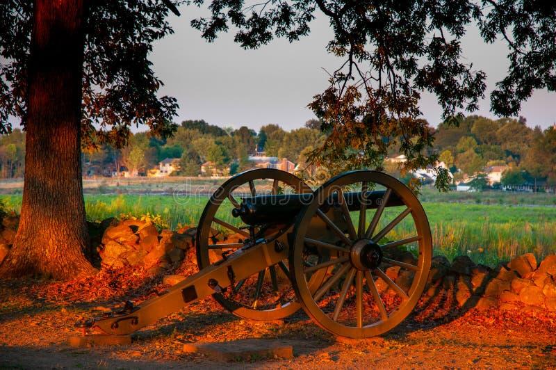 Verbonden Kanonseminarie Ridge Sunset royalty-vrije stock fotografie