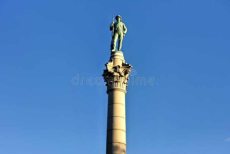 Verbonden Militairen ` & Zeelieden` Monument stock afbeeldingen