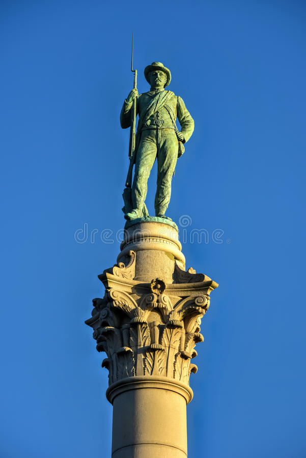 Verbonden Militairen ` & Zeelieden` Monument stock afbeelding