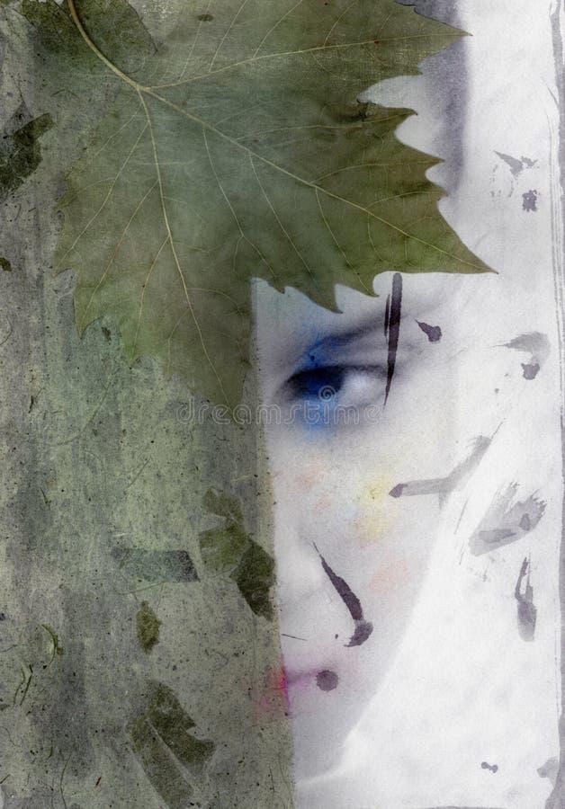 Verborgen Artemis royalty-vrije illustratie