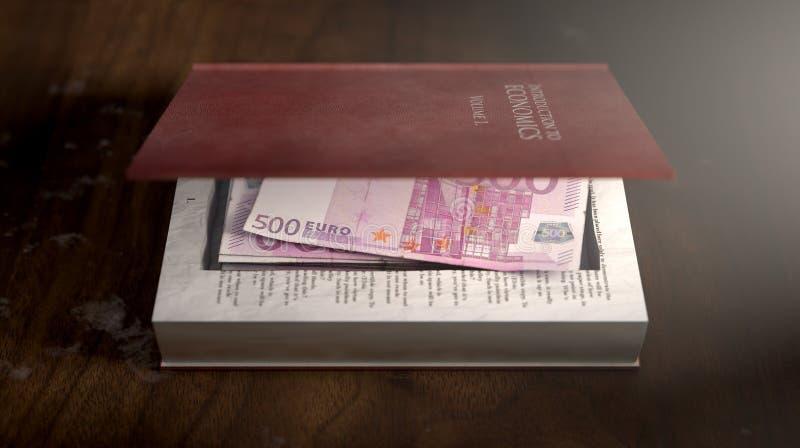 Verborgene Anmerkungen in einem Buch lizenzfreie stockfotos