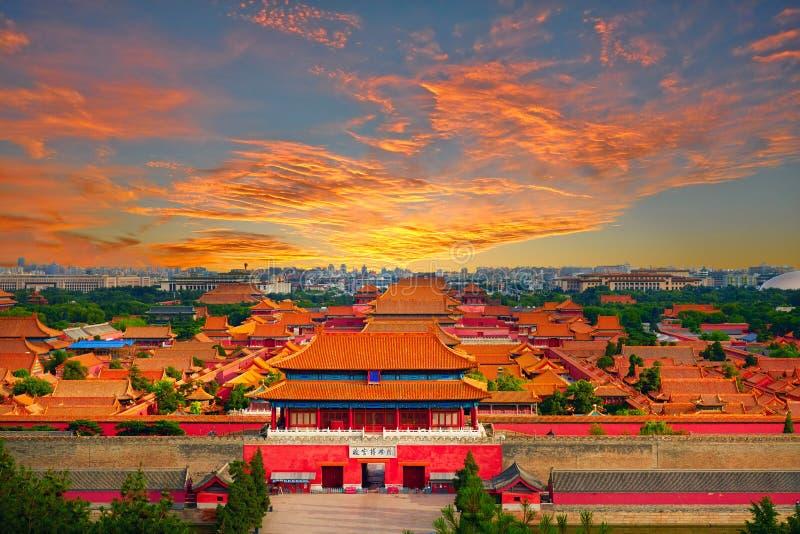 Verbotene Stadt, Peking lizenzfreie stockbilder