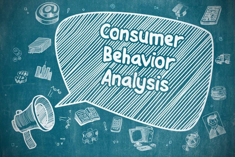 Verbraucherverhalten-Analyse - Geschäfts-Konzept vektor abbildung