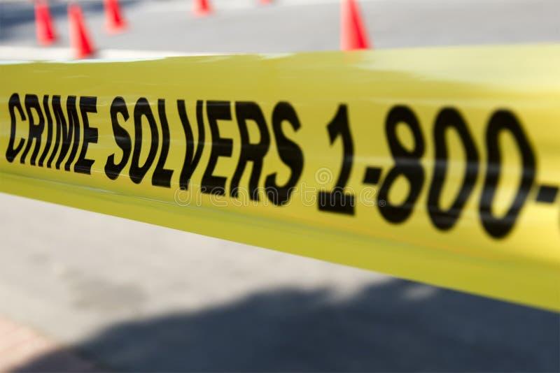 Verbrechen-Wandler stockbild