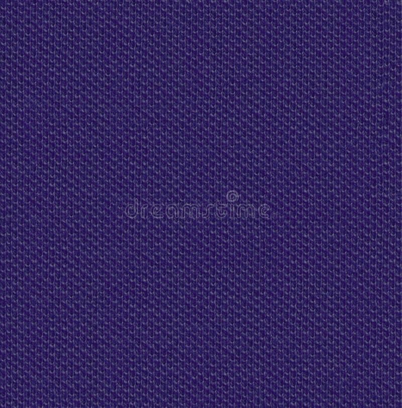 Verbreitete nahtlose Karte der Gewebebeschaffenheit 3 indigo stockfoto