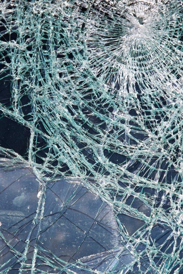 Verbrijzeld Glas royalty-vrije stock afbeeldingen
