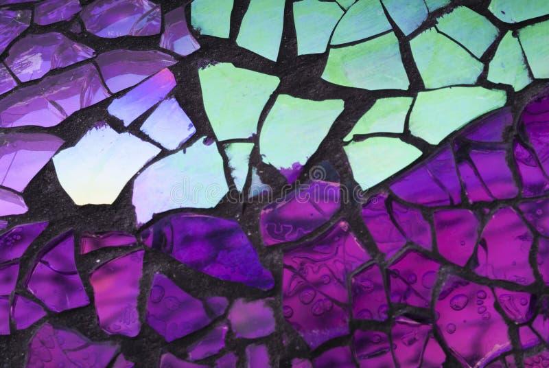 Verbrijzeld Glasmozaïek royalty-vrije stock afbeeldingen