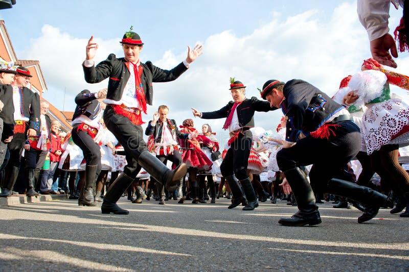 Verbunk - danza popular de la UNESCO foto de archivo